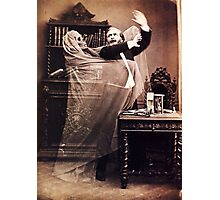 Ghost Attack Vintage photograph Photographic Print
