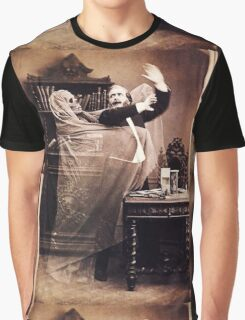 Ghost Attack Vintage photograph Graphic T-Shirt