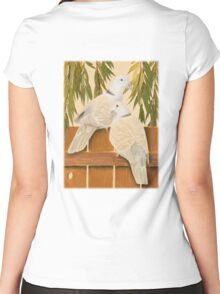 Doves Women's Fitted Scoop T-Shirt