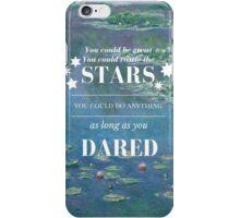 Rattle the Stars- Sarah J Maas, Throne of Glass- Waterlilies iPhone Case/Skin