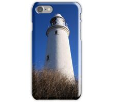 St Mary's Lighthouse, Whitley Bay iPhone Case/Skin