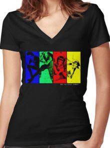 cowboyb Women's Fitted V-Neck T-Shirt