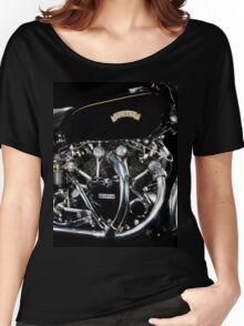 Vincent Black Shadow Engine Women's Relaxed Fit T-Shirt