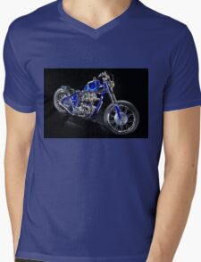 Triumph Custom Bobber Mens V-Neck T-Shirt