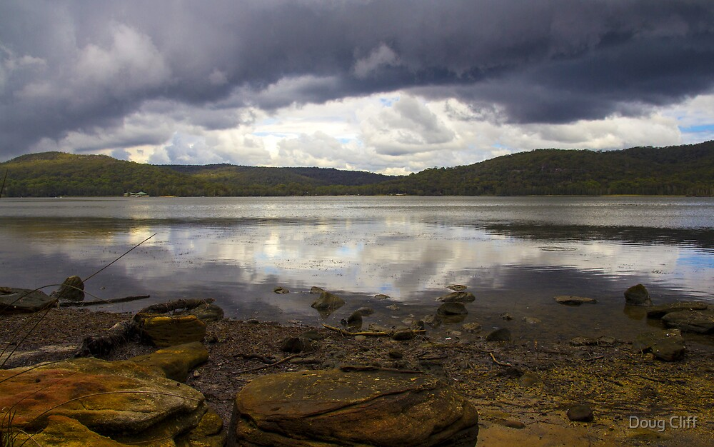 Narrabeen Lake NSW by Doug Cliff