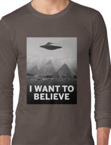 Want2Believe (Giza) Long Sleeve T-Shirt