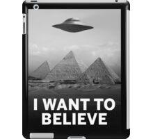 Want2Believe (Giza) iPad Case/Skin