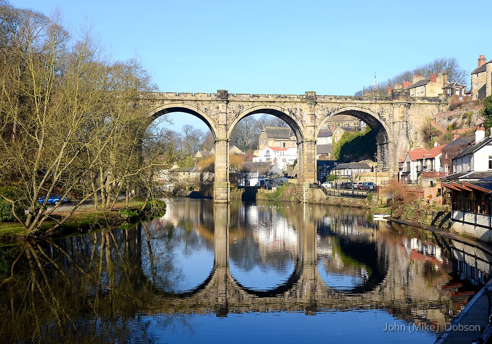 Knaresborough by John (Mike)  Dobson