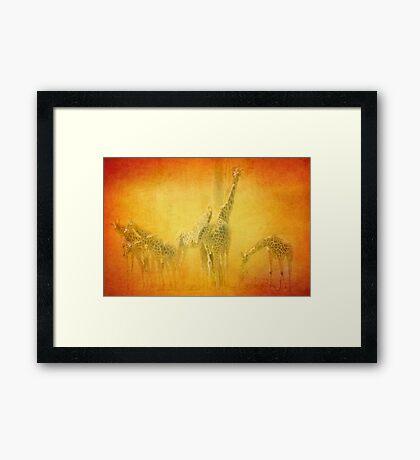 Serengeti Moods Framed Print