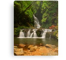 Elabana Falls with rocks Metal Print