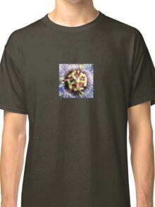 Close Up of The Centre Of a Passiflora Flower Classic T-Shirt