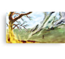 The Martian Cylinder on the Common   Canvas Print