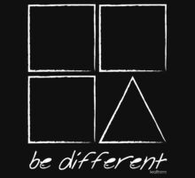 be different by kraftseins