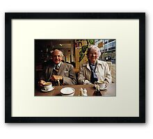 Time for a cuppa, UK, 1980s Framed Print