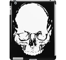 WHITE SKULL iPad Case/Skin