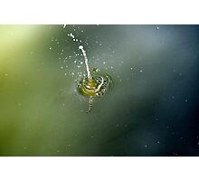 """""""TRIP OF A DROP""""             Photographic Print"""