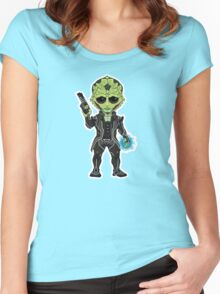 Drell Women's Fitted Scoop T-Shirt
