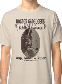 Dr Cadeuceus' Cure-all Snake Oil Classic T-Shirt