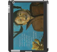 Rahil - Quotes iPad Case/Skin