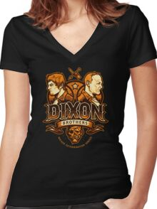 Dixon Brothers Exterminators Women's Fitted V-Neck T-Shirt