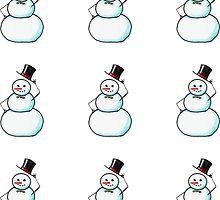 Snow Gentleman Mini  by Amy-Elyse Neer