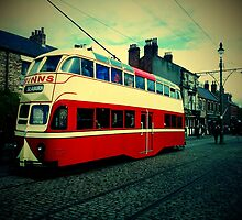 Blackpool Tram 703 by Andrew Pounder