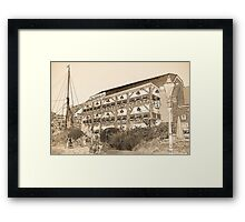 The Dickens Inn Pub London Framed Print