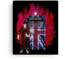 British Time lord Canvas Print