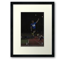 Adelaide Track Classic 2013 - Long Jump 2 Framed Print