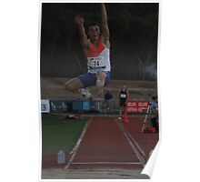 Adelaide Track Classic 2013 - Long Jump 3 Poster