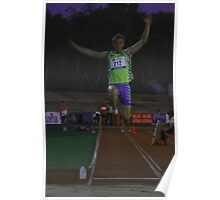 Adelaide Track Classic 2013 - Long Jump 6 Poster