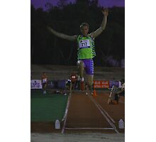 Adelaide Track Classic 2013 - Long Jump 6 Photographic Print