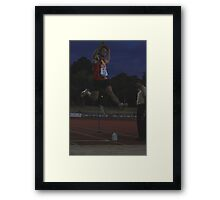 Adelaide Track Classic 2013 - Long Jump 9 Framed Print