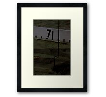 Adelaide Track Classic 2013 - Long Jump 11 Framed Print