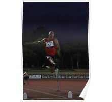Adelaide Track Classic 2013 - Long Jump 14 Poster