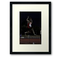 Adelaide Track Classic 2013 - Long Jump 16 Framed Print