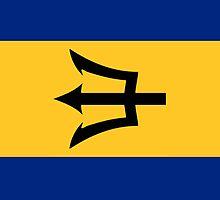 Barbados Flag by pjwuebker