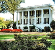 University of Alabama Presidents Mansion by RickDavis