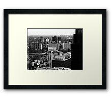 Cityscape of Toronto Framed Print