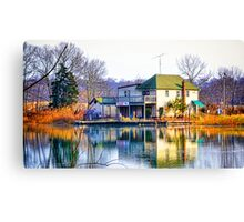 Kings Park Reflections Canvas Print