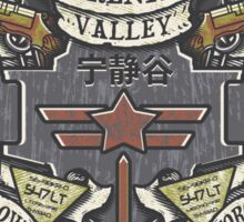 Serenity Valley Memorial Sticker
