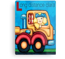 Long Distance Clara Metal Print