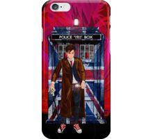 British Time lord iPhone Case/Skin