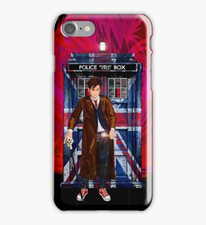 British Time lord iPhone Case/Skin