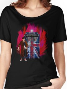 British Time lord Women's Relaxed Fit T-Shirt