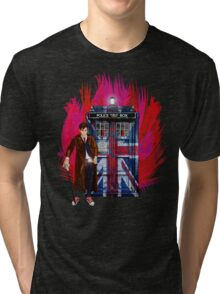 British Time lord Tri-blend T-Shirt