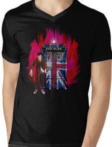 British Time lord Mens V-Neck T-Shirt