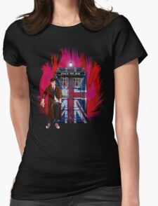 British Time lord Womens Fitted T-Shirt