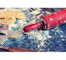 Little Red Rolling Pin Photographic Print