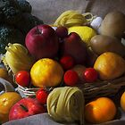 Composition of fruit and vegetable by salvo